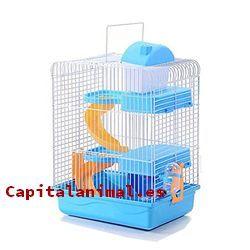 Jaulas para hamster 3 pisos ¿Merece la pena su compra?
