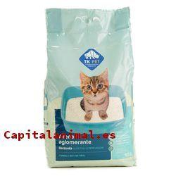 arenas absorbentes para gatos baratos