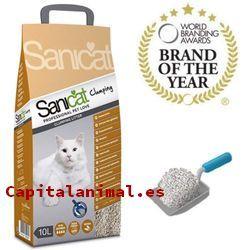 arenas biodegradables para gatos baratos