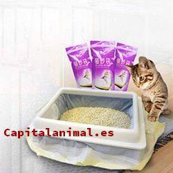 areneros descubiertos para gatos baratos