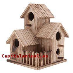 casas para pajaros baratos
