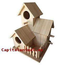 casitas para pajaros baratos