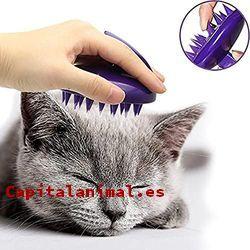 cepillos quita pelos para gatos baratos