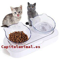 comederos automaticos para gatos baratos