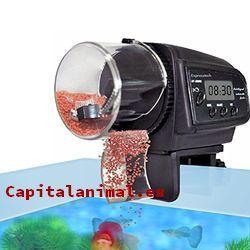 dispensador de comida para peces baratos