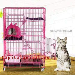 Jaulas para gatos ❤️ Mejores alternativas online