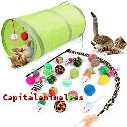 Rebajas online de juguetes para gatos