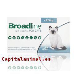 pipetas broadline para gatos baratos