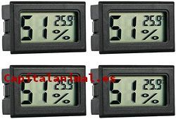 termometros higrometro digital para reptiles baratos