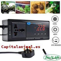 termostatos para terrario baratos